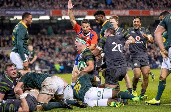 Ireland v South Africa - Post-Match Analysis Header Photo