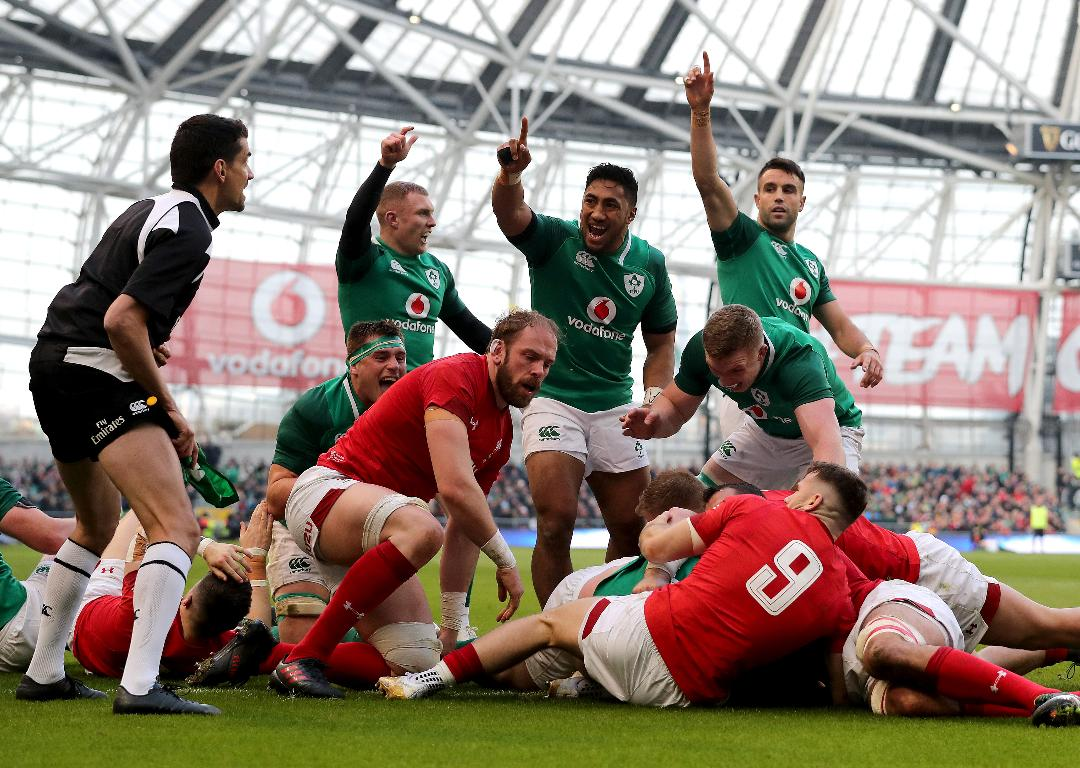 Ireland 37 - 27 Wales - Match Reaction Header Photo