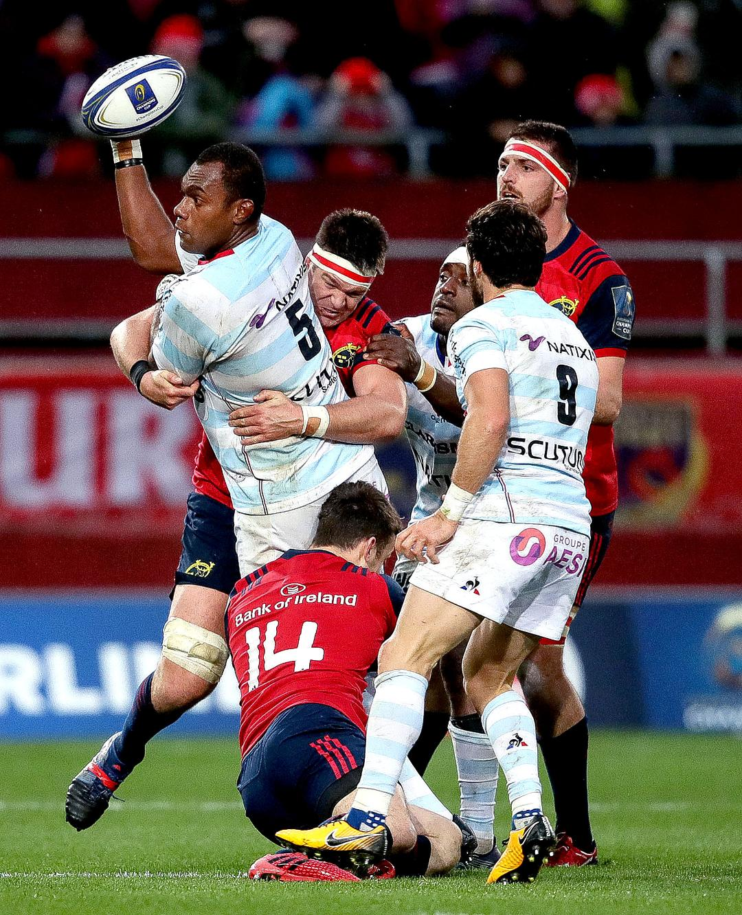 Racing 92 v Munster - Match Preview Header Photo