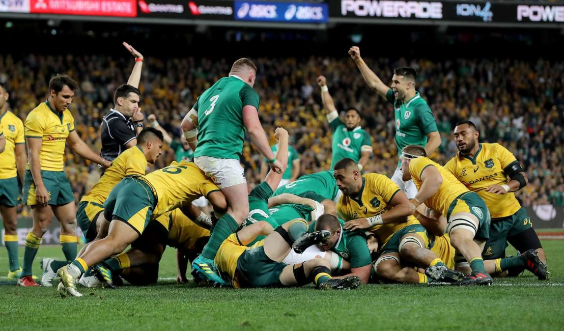 Australia 16 - 20 Ireland - Match Reaction Header Photo