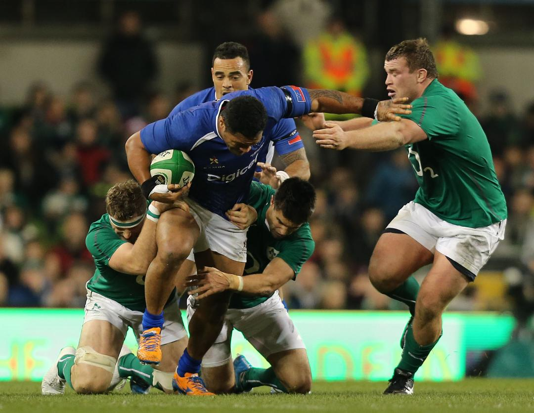 Ireland v Samoa (Winding The Clock) - Match Preview Header Photo