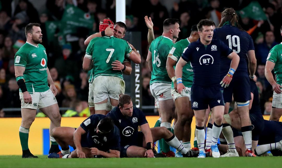 Ireland 19 - 12 Scotland - Post-Match Analysis (Knife Edge) Header Photo