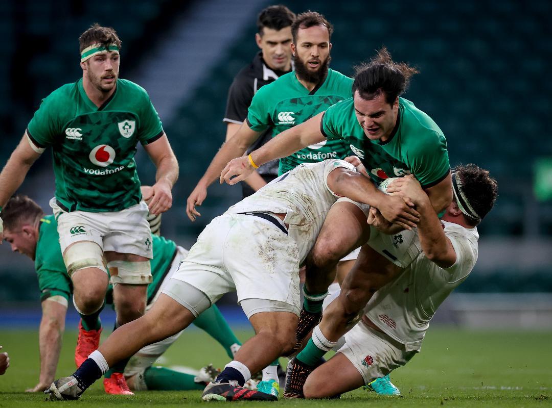 England 18 - 7 Ireland - Post-Match Analysis (Playback Loop)