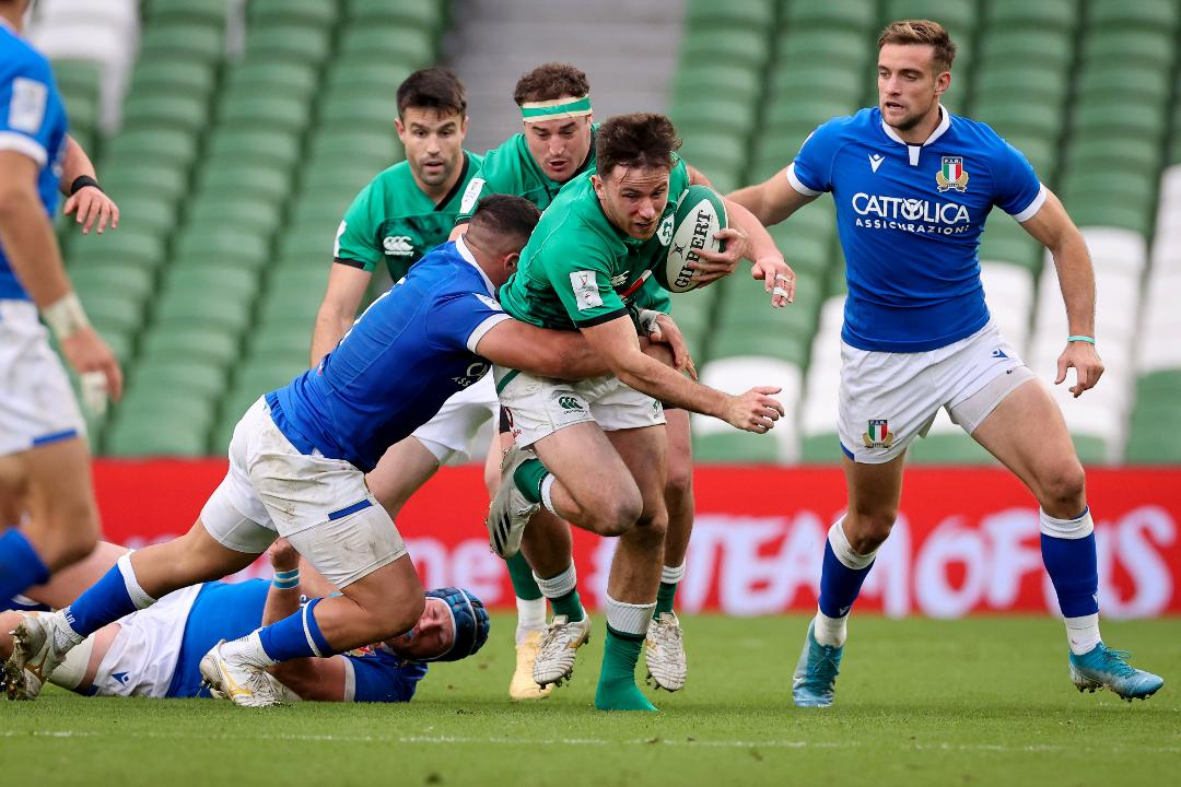 Italy v Ireland - Match Preview (Boiler Room) Header Photo